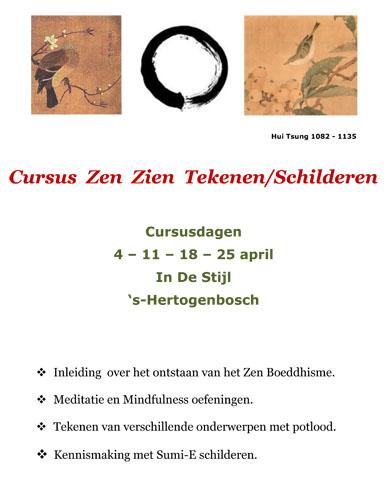 Cursus Zen Zien Tekenen Schilderen voor website